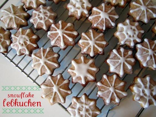 Snowflake Lebkuchen