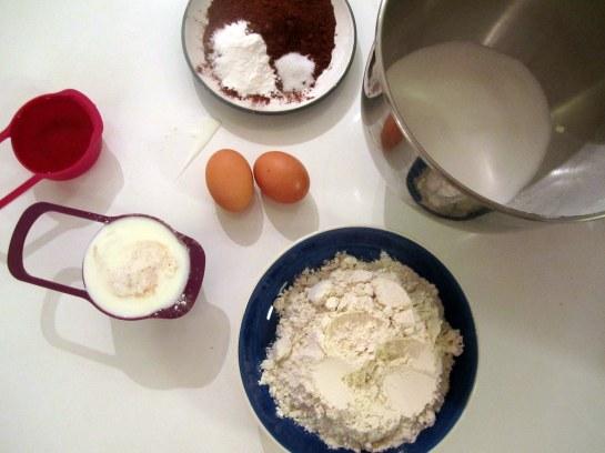 Chocolate Coffee Cake Ingredients