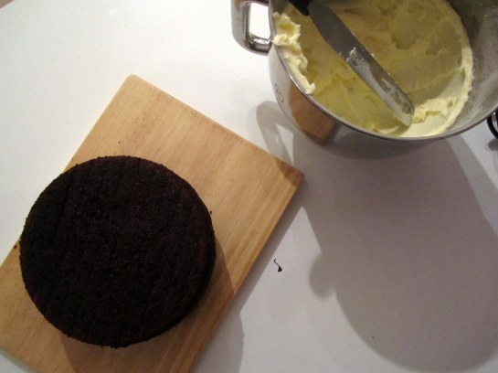 Chocolate Cake and Buttercream
