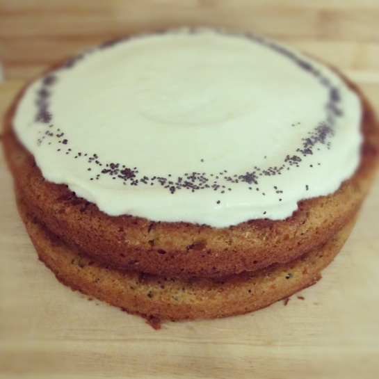 Instagram Pic of Courgette Cake