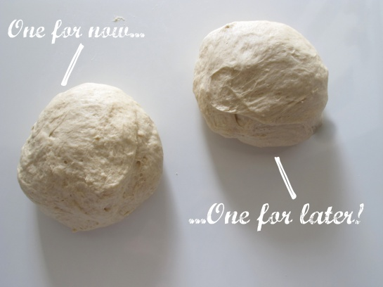 Resting Pizza Dough