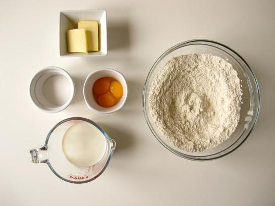 Enriched Doughnut Dough Ingredients