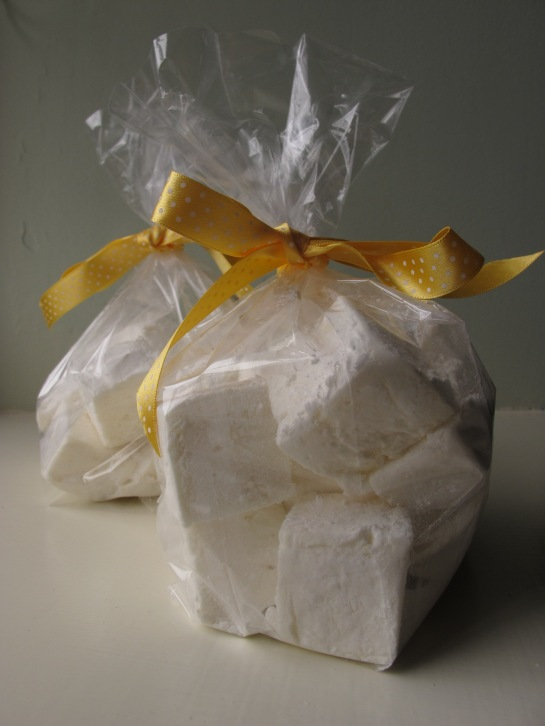 Lemon and Honey Marshmallows