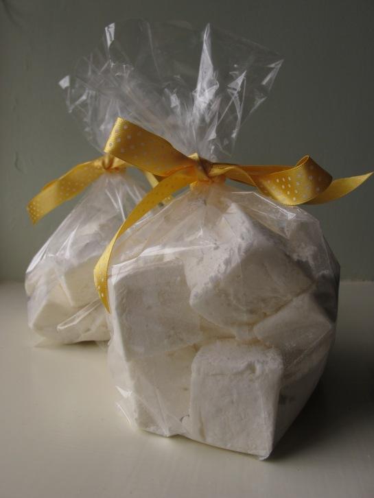 Lemon and Honey Marshmallows